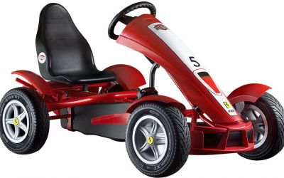 Featured image of article: Berg Go Kart Ferrari